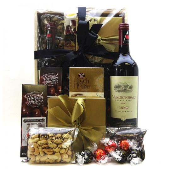 Sweet and Red Gift Box Hamper