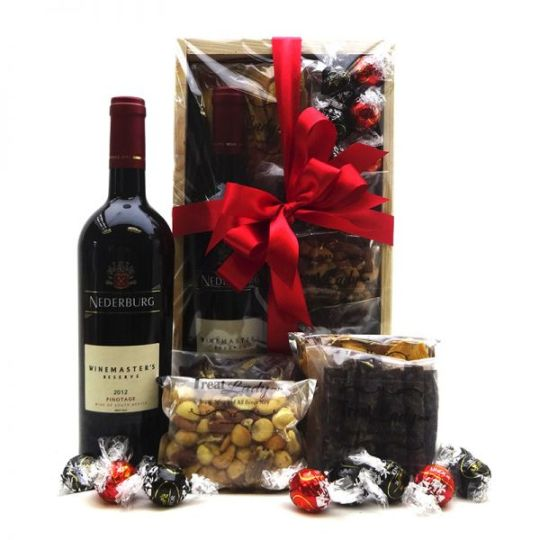Red & Treats Hamper