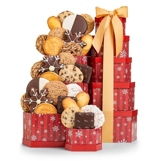 Winter Treats Tower Hamper