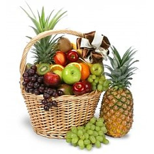 Tropical Fruit Basket Hamper