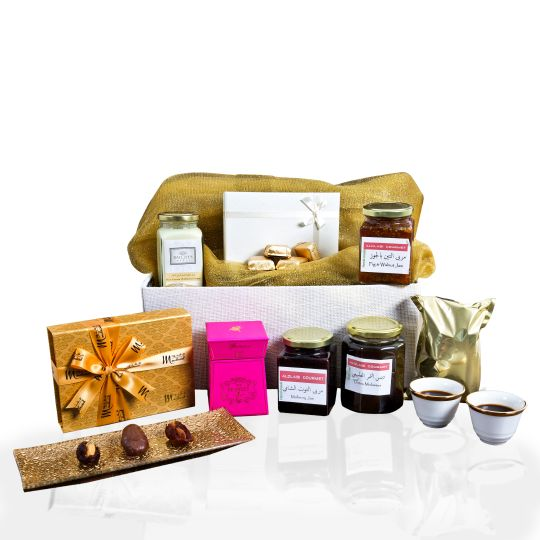Gourmet Arabic Sweet Treats Hamper