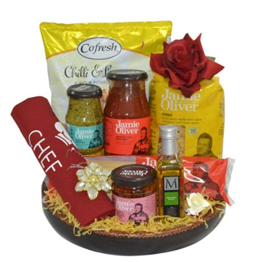 The Naked Chef Hamper Hamper