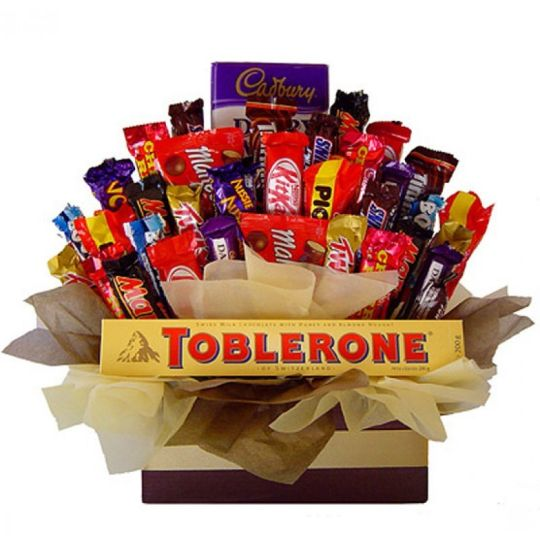 Sweet Candy Bouquet Hamper