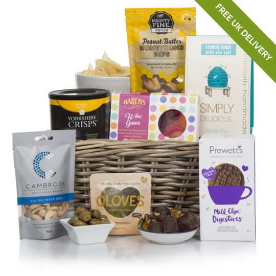 Pure Delights For Her Hamper
