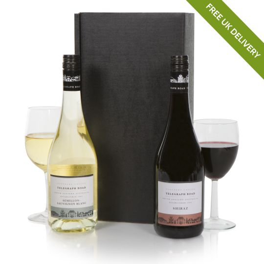 Luxury Wine Duo Hamper Hamper