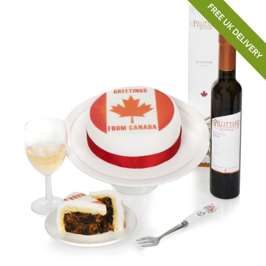 Based on  - Canadian Cake & Wine Hamper Hamper