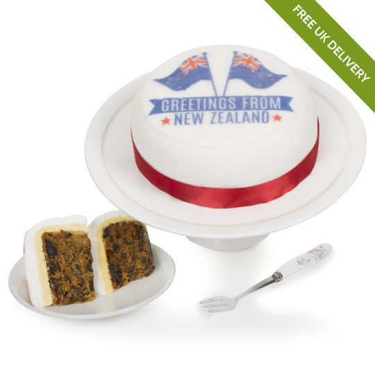 New Zealand Greetings Cake Hamper