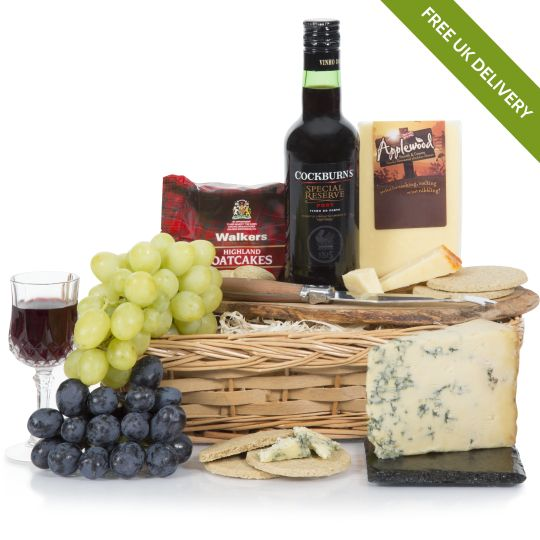Port & Stilton Christmas Hamper Hamper