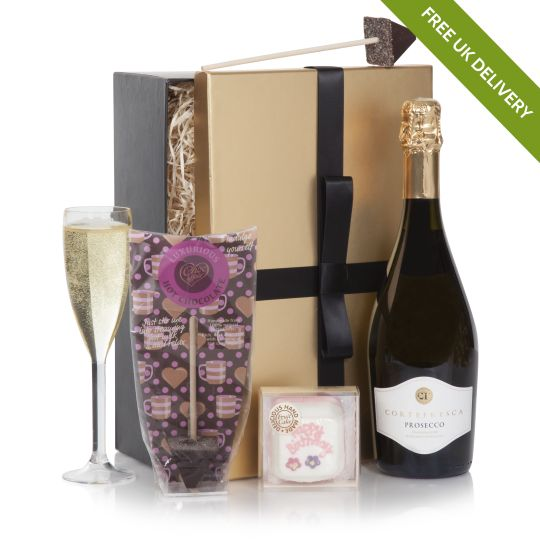 Free UK Delivery Happy Birthday Prosecco Hamper