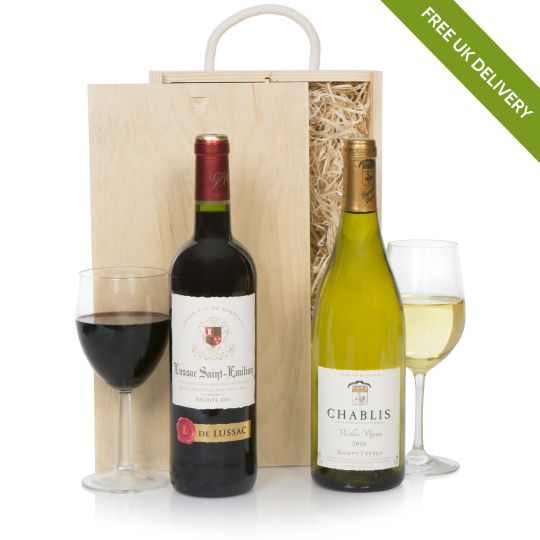 Luxury French Wine Selection Hamper