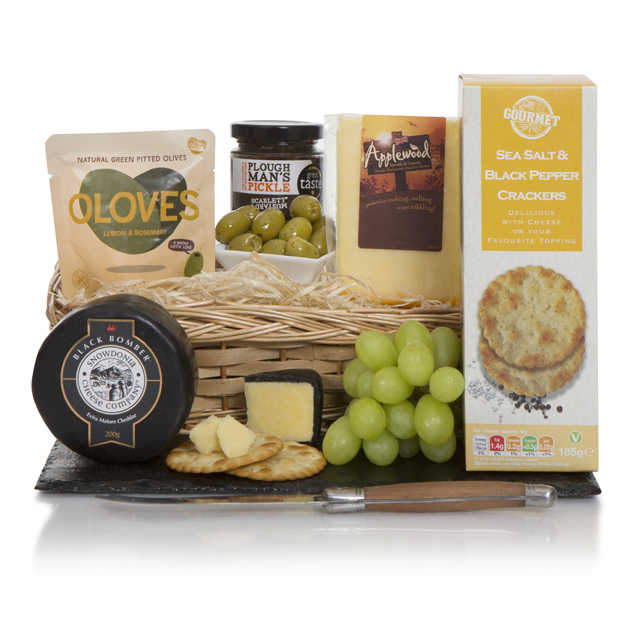 Luxury Cheese Basket Hamper