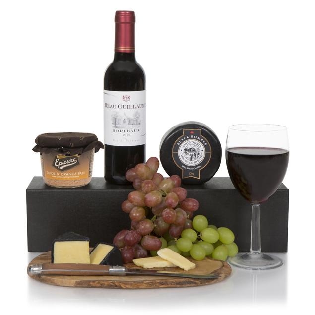 Wine, Cheese & Pate Gift Box Hamper