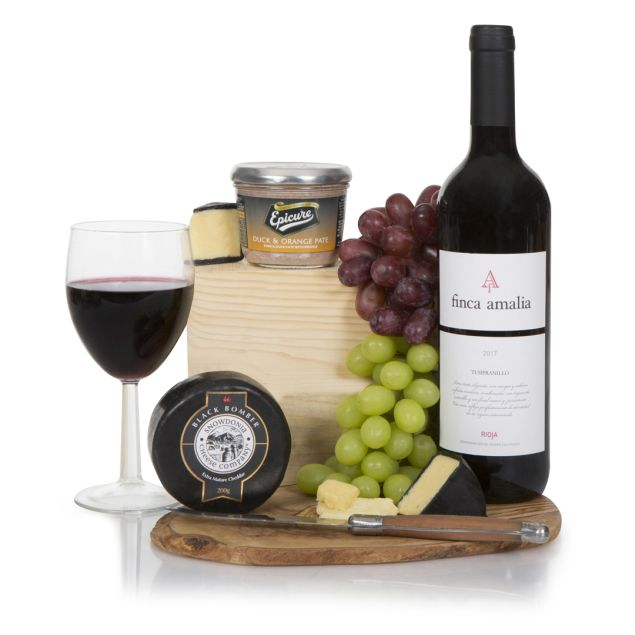 The Wine & Cheese Gift Hamper Hamper