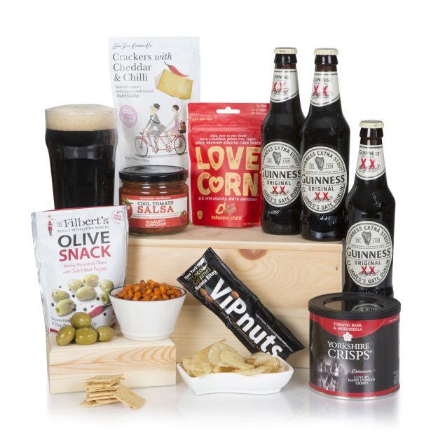 Guinness & Snacks Hamper Hamper