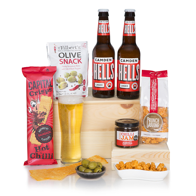 Spicy Craft Beer Hamper Hamper