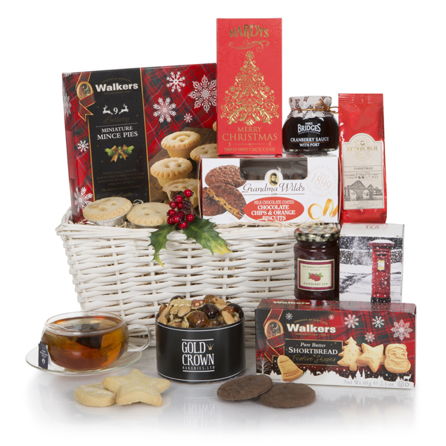 White Christmas Hamper Hamper