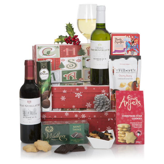 Naughty & Nice Xmas Gift Tower Hamper