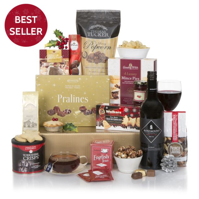 Wine & Chocolate Gourmet Hamper Hamper