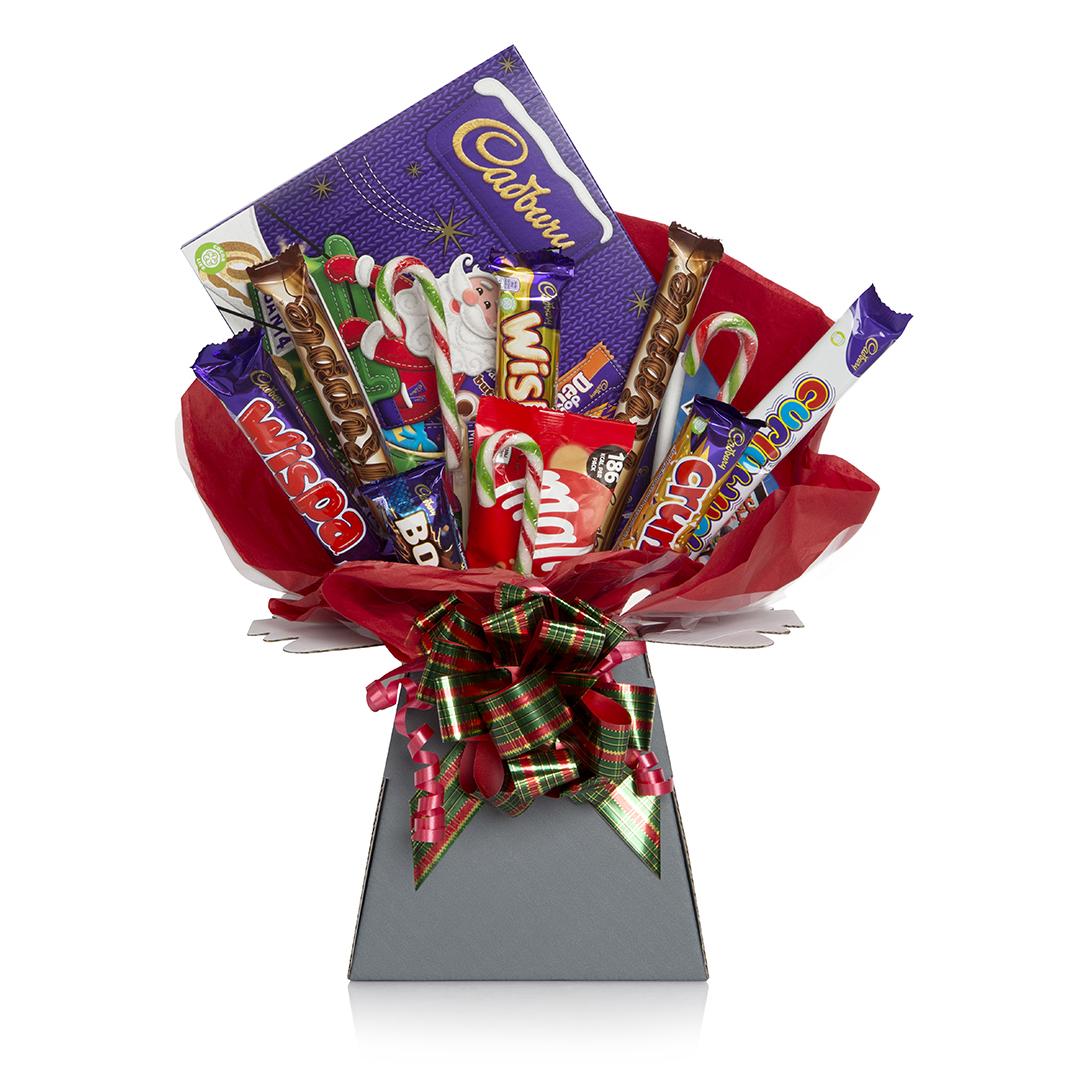 Christmas Chocolate Bouquet Hamper