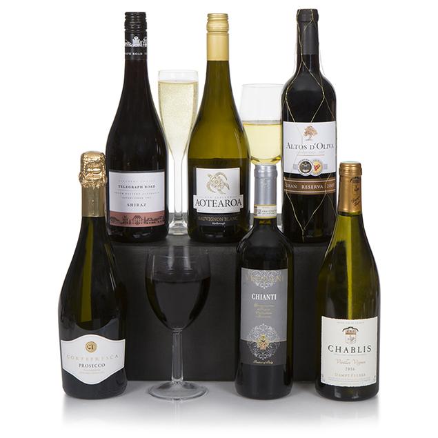 Connoisseur Six Bottle Wine Selection Hamper