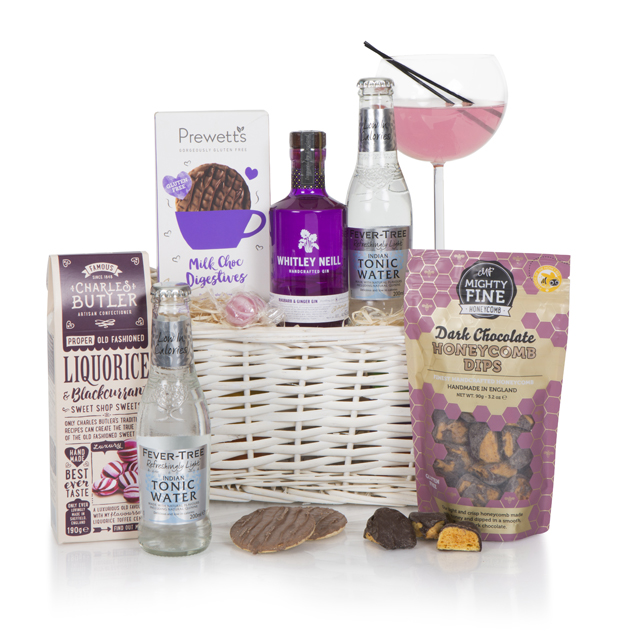 Gin Lovers Basket Hamper