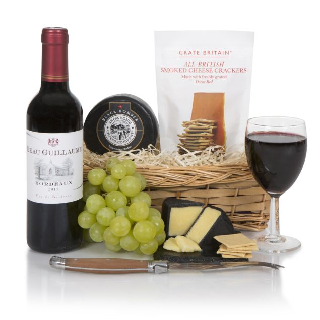 Father's Day Wine & Cheese Hamper Hamper