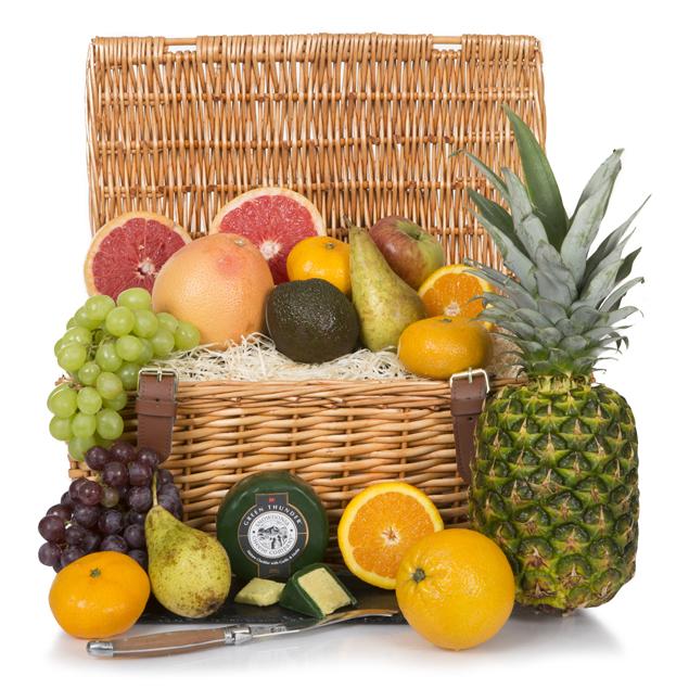 Luxury Fruit Basket Hamper Hamper