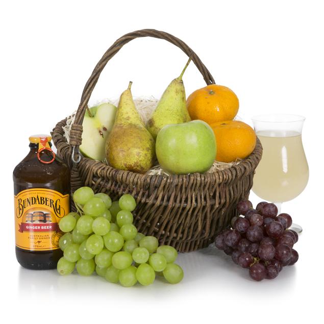 Traditional Fruit Basket Hamper