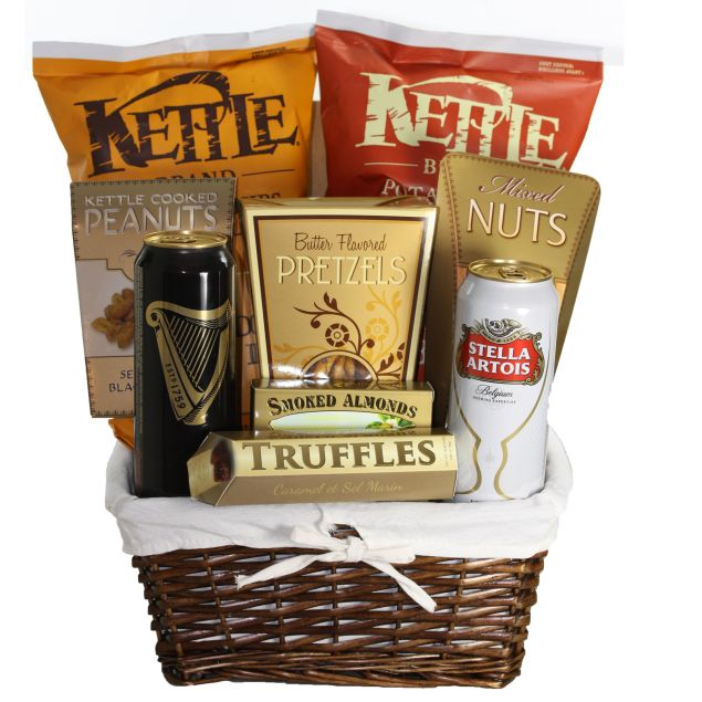Beer and Snacks Hamper