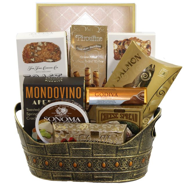 Crackers and Cheese Hamper