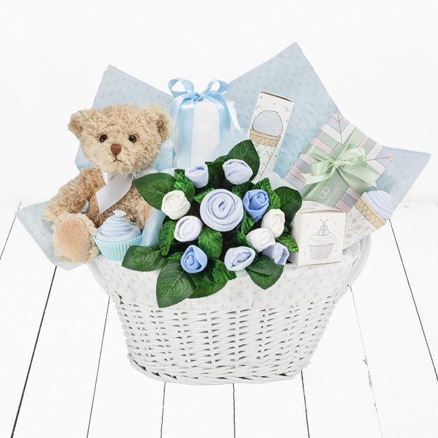 c9308d1e0a839 It's a Boy Gift Basket
