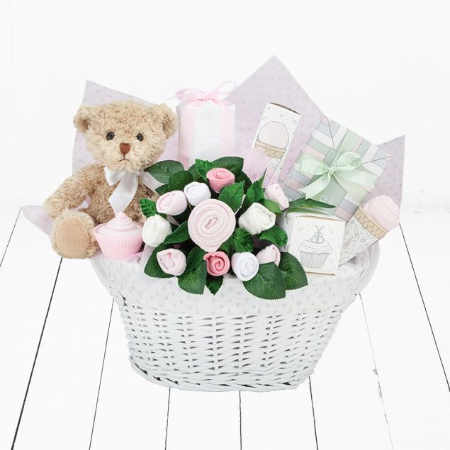 It's a Girl Gift Basket Hamper