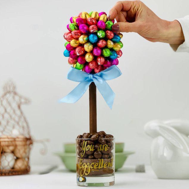 Choccy Egg Tree (25cm) Hamper