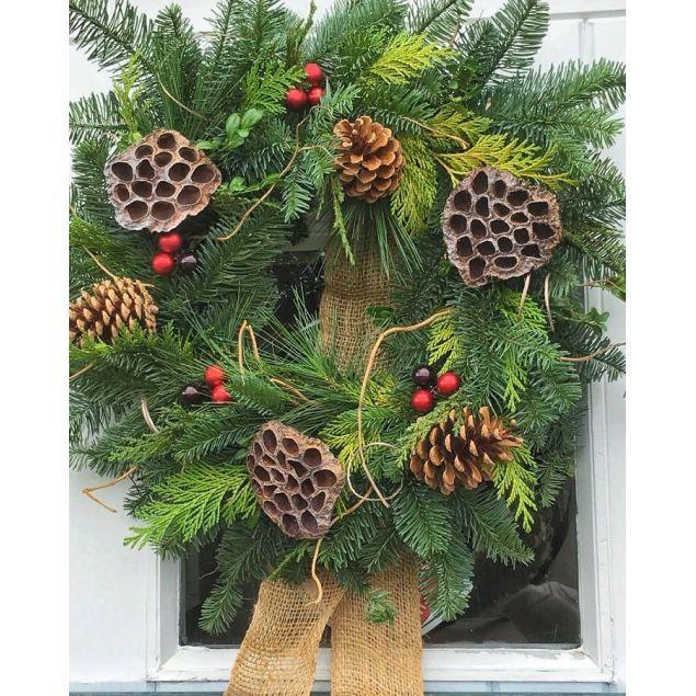 Luxury Eco Wreath Hamper