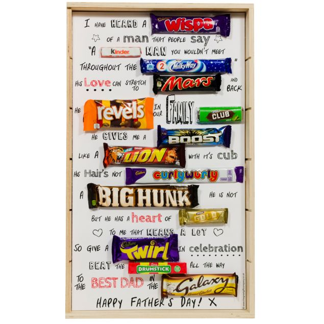 Father's Day Chocolate Poem Hamper