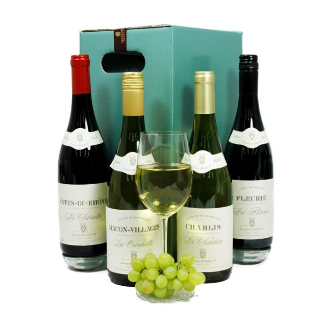 French Wine Box Hamper