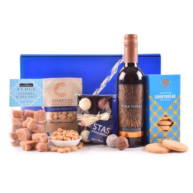Bountiful Blue Gift Box Hamper