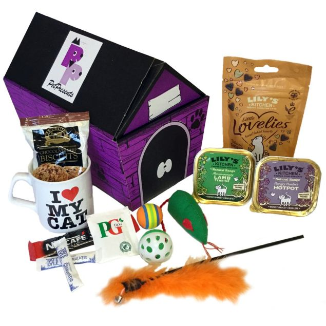 I Love Cats Hamper Hamper