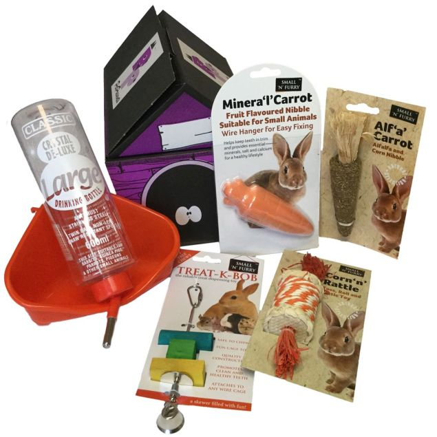 Little Fluffies Treat Hamper - Rabbits/Guineas Hamper