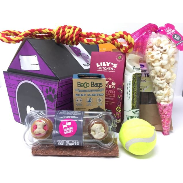 The Dog Treat Hamper - Small/Medium Hamper