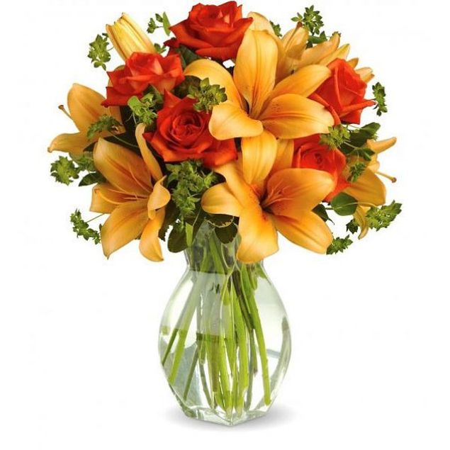 Sundowner Flower Bouquet Hamper