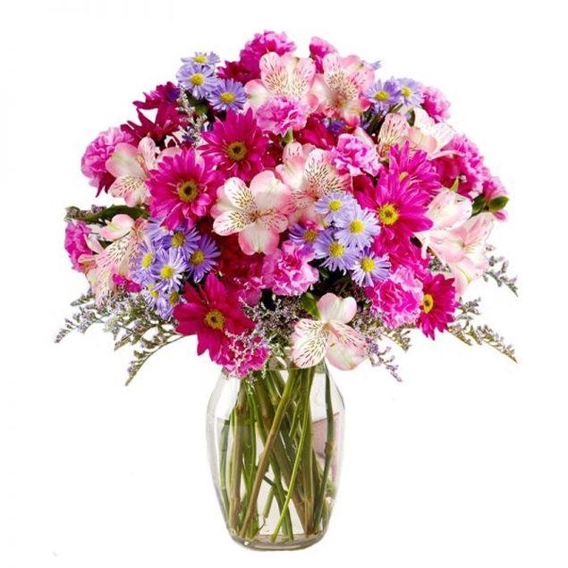 In The Pink Flower Bouquet Hamper