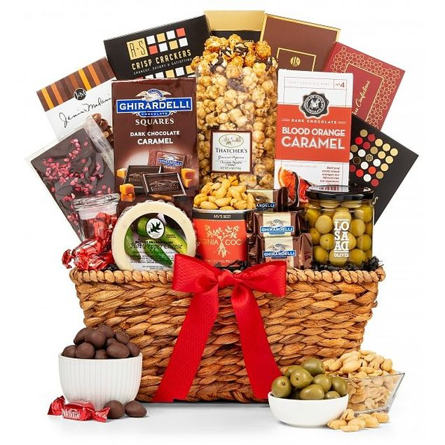 Savoury Sensations Gift Basket (USA Only) Hamper