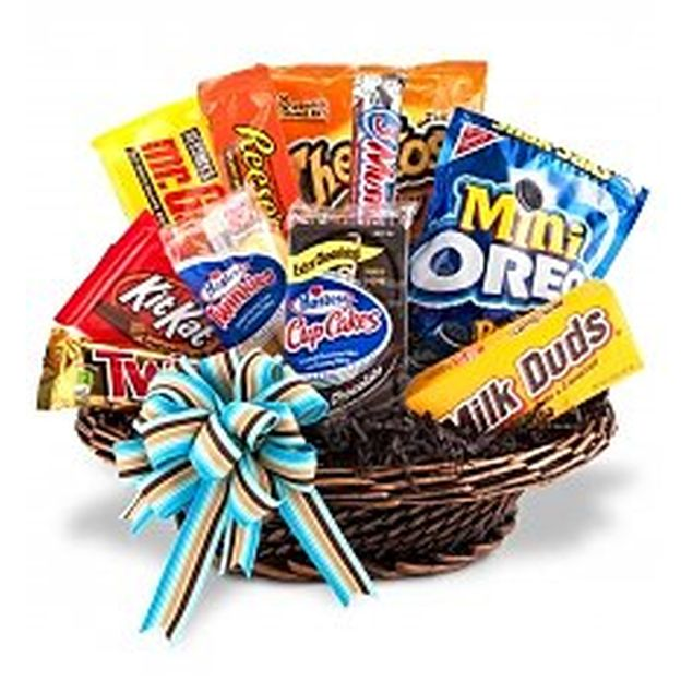 American Sweets Basket Hamper
