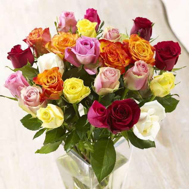 24 Mixed Roses Hamper