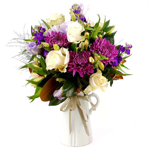 A Jug of Joy Flower Bouquet Hamper