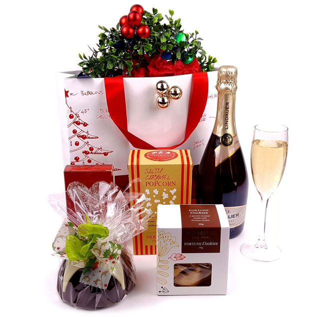 Festive Fizz Bag Hamper