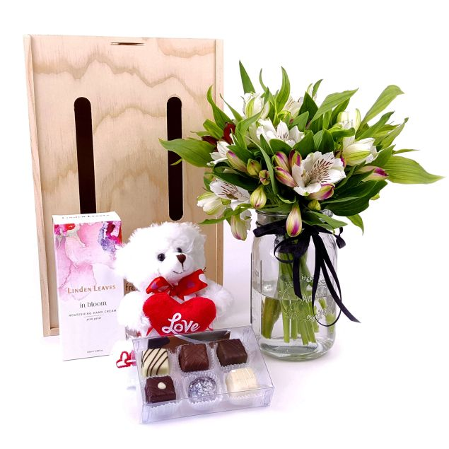 With Love Flower Gift Hamper