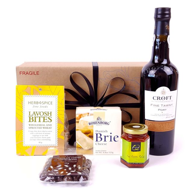 Classic Cheese & Port Hamper