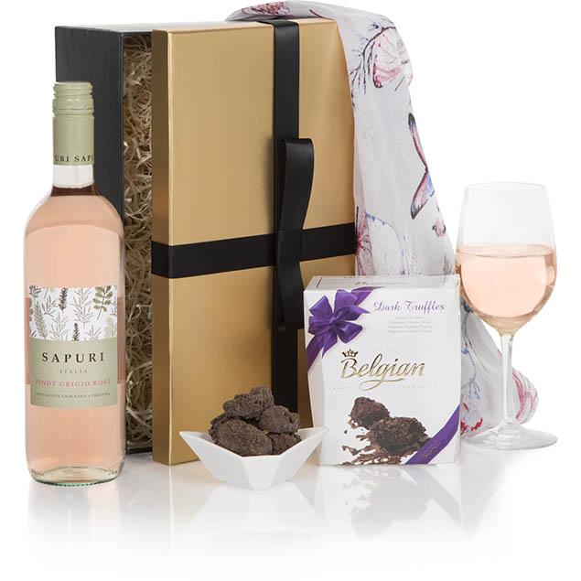 Ladies Delight Rose Gift Set Hamper